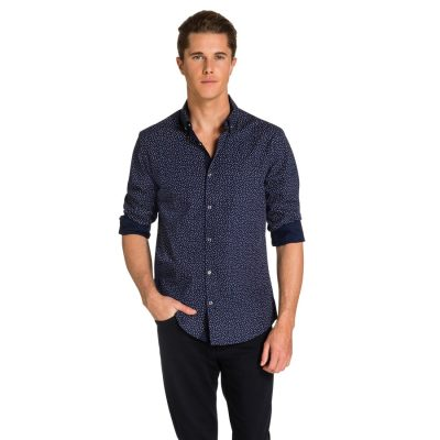 Fashion 4 Men - yd. Gregor Shirt Navy Xxl