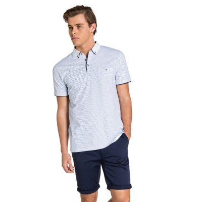 Fashion 4 Men - yd. Kaylor Polo White 3 Xl
