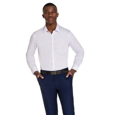 Fashion 4 Men - yd. Niven Dress Shirt Pink S