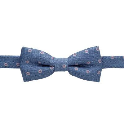 Fashion 4 Men - yd. Ocean Bowtie Blue One
