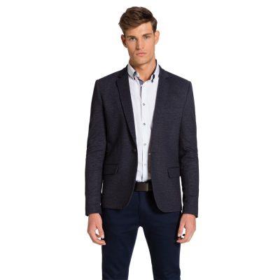 Fashion 4 Men - yd. Ponte Blazer Charcoal Xs
