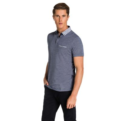 Fashion 4 Men - yd. Raiden Polo Navy 2 Xs