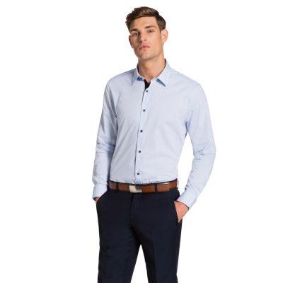Fashion 4 Men - yd. Rosny Shirt Blue L