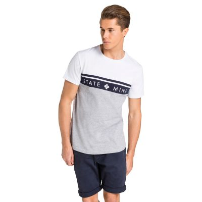 Fashion 4 Men - yd. Snap Tee White Xl