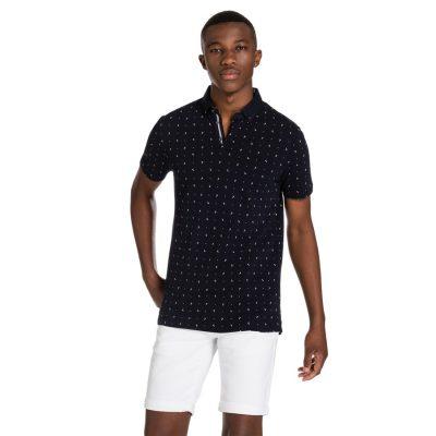 Fashion 4 Men - yd. Thurston Polo Navy Xs