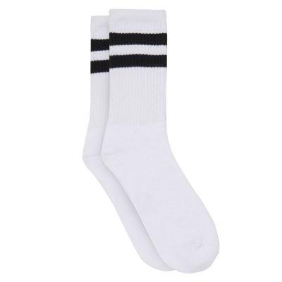 Fashion 4 Men - yd. Two Ways Classic Sport Sock White One