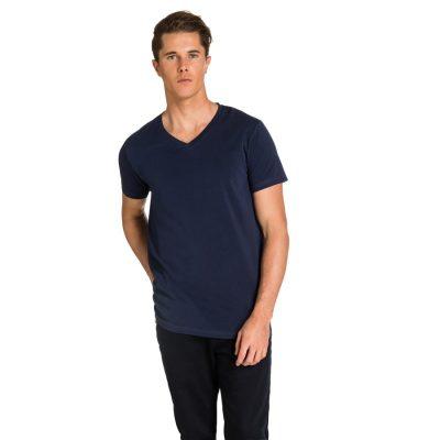 Fashion 4 Men - yd. Vinton Tee Petrol 2 Xs