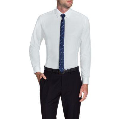 Fashion 4 Men - Tarocash Beckham Slim Shirt White Xs