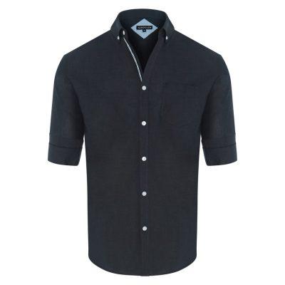 Fashion 4 Men - Tarocash Cool Cotton Shirt Slate Xxxl