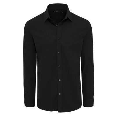 Fashion 4 Men - Tarocash Edgar Dress Shirt Black S