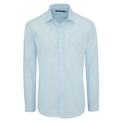 Fashion 4 Men - Tarocash Edgar Dress Shirt Sky M