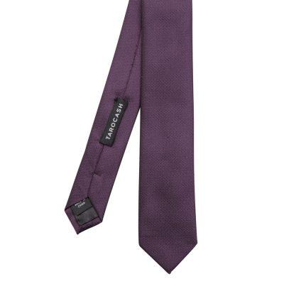 Fashion 4 Men - Tarocash Essential Tie Purple 1