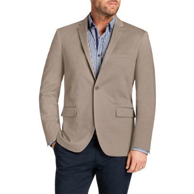 Fashion 4 Men - Tarocash Garrett Stretch Jacket Sand Xl