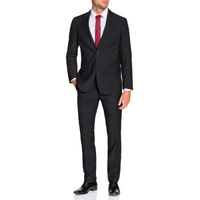 Fashion 4 Men - Tarocash Gideon 2 Button Suit Charcoal 48