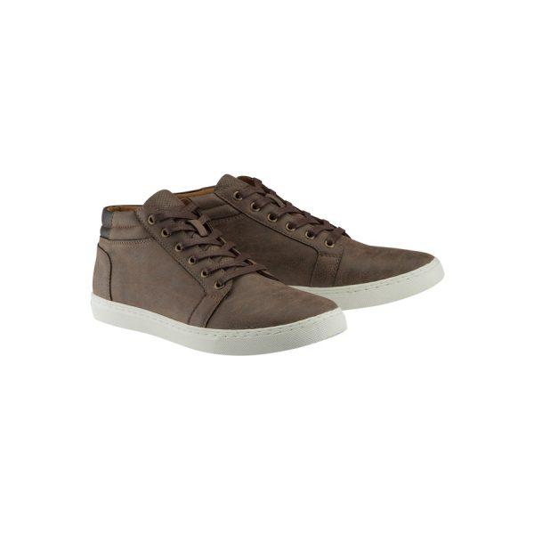 Fashion 4 Men - Tarocash Hawk High Top Shoe Chocolate 9