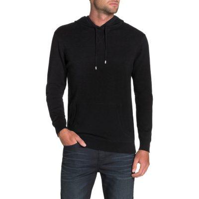 Fashion 4 Men - Tarocash Mac Hoodie Black M