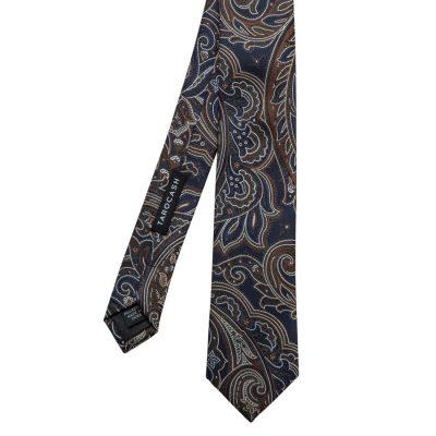 Fashion 4 Men - Tarocash Native Paisley Tie Khaki 1
