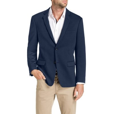 Fashion 4 Men - Tarocash Pascoe Stretch Textured Jacket Royal M