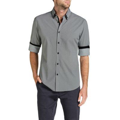 Fashion 4 Men - Tarocash Rhaegar Print Shirt Black Xxl