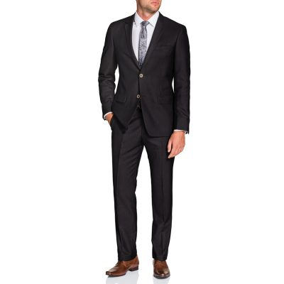 Fashion 4 Men - Tarocash Weaver 2 Button Suit Espresso 34