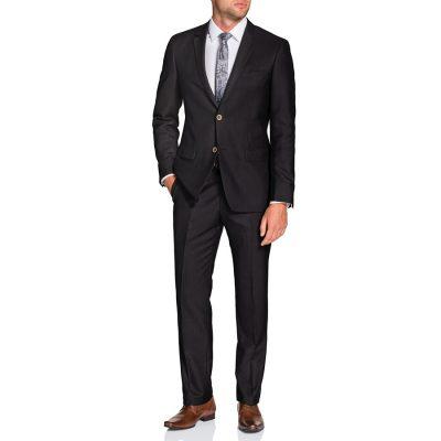 Fashion 4 Men - Tarocash Weaver 2 Button Suit Espresso 38