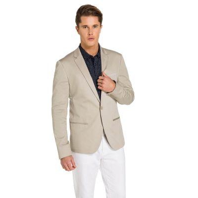 Fashion 4 Men - yd. Academy Dress Jacket Sand 2 Xs
