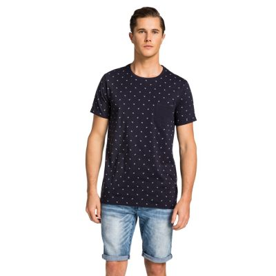 Fashion 4 Men - yd. Adriel Tee Navy 2 Xs