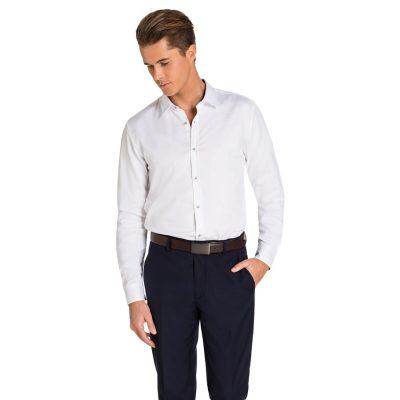 Fashion 4 Men - yd. Arctic Slim Fit Dress Shirt Ice Blue Xxl