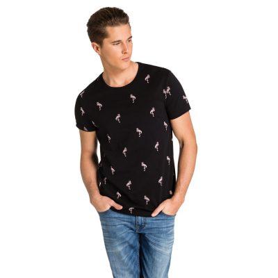 Fashion 4 Men - yd. Bertram Tee Blk 2 Xs