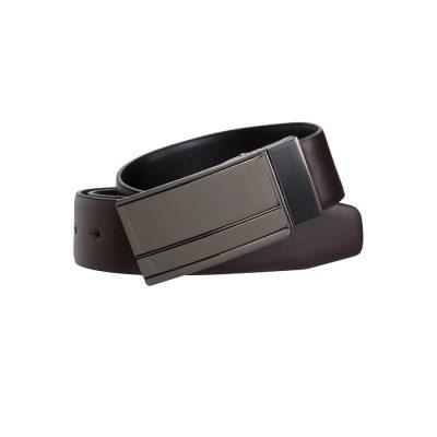 Fashion 4 Men - yd. Fredrick Dress Belt Brown/Black 30