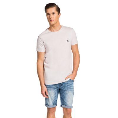 Fashion 4 Men - yd. Motif Tee Pink Xs