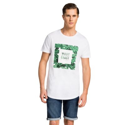 Fashion 4 Men - yd. Tangent Relaxed Fit Tee White M