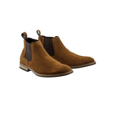 Fashion 4 Men - Tarocash Bedlam Chelsea Boot Tobacco 8
