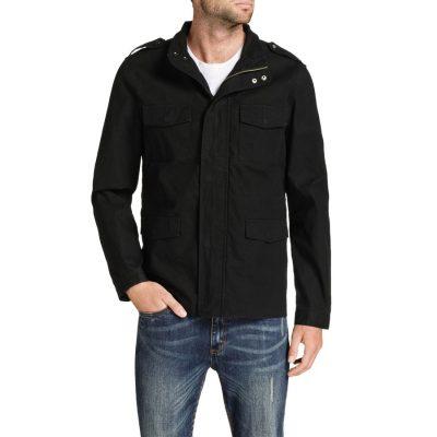 Fashion 4 Men - Tarocash Clay Military Jacket Black Xxxl
