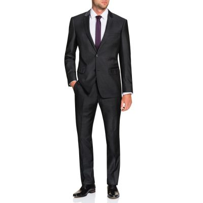 Fashion 4 Men - Tarocash Dorsey 2 Button Suit Pewter 44
