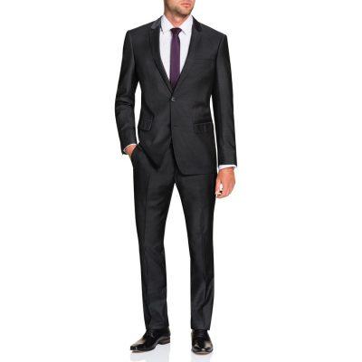 Fashion 4 Men - Tarocash Dorsey 2 Button Suit Pewter 50