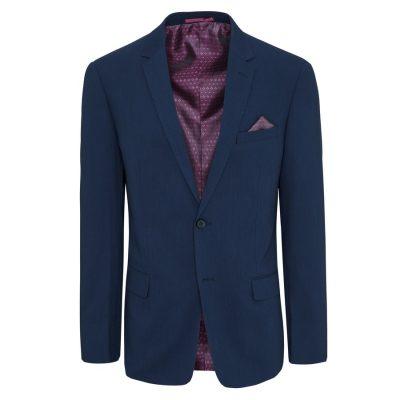 Fashion 4 Men - Tarocash Gifford Stretch 2 Button Suit Royal 42
