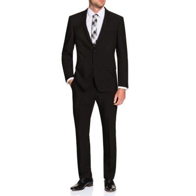 Fashion 4 Men - Tarocash Melvin Stretch 2 Button Suit Black 40