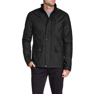 Fashion 4 Men - Tarocash Olly Coated Jacket Black M