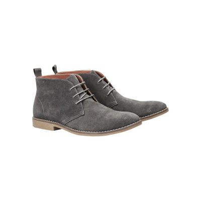 Fashion 4 Men - Tarocash Radar Desert Boot Charcoal 8