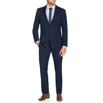 Fashion 4 Men - Tarocash Regent 1 Button Suit Navy 36