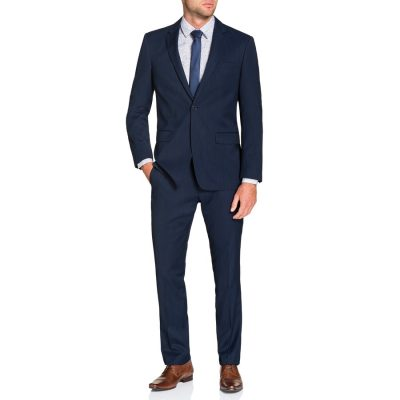 Fashion 4 Men - Tarocash Regent 1 Button Suit Navy 46
