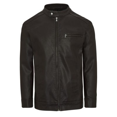 Fashion 4 Men - Tarocash Solo Bomber Jacket Chocolate M