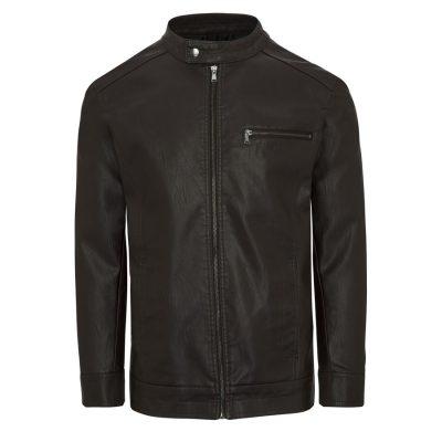 Fashion 4 Men - Tarocash Solo Bomber Jacket Chocolate Xxl