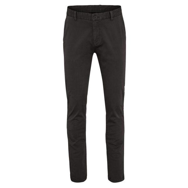 Fashion 4 Men - Tarocash Tom Side Pkt Stretch Pant Charcoal 30