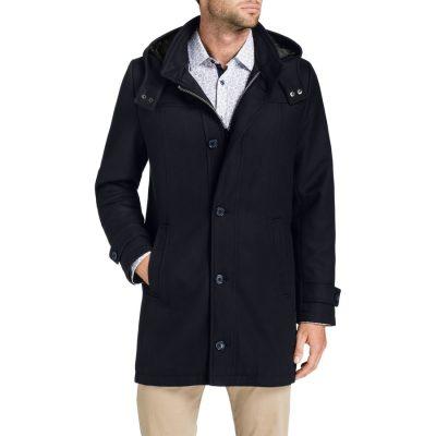 Fashion 4 Men - Tarocash Wales Coat Navy M