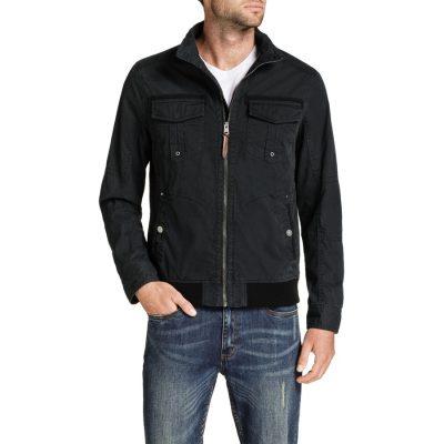 Fashion 4 Men - Tarocash Waylon Zip Jacket Black L