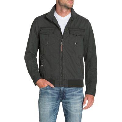 Fashion 4 Men - Tarocash Waylon Zip Jacket Charcoal M