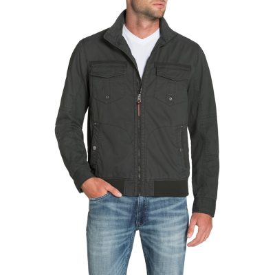 Fashion 4 Men - Tarocash Waylon Zip Jacket Charcoal S
