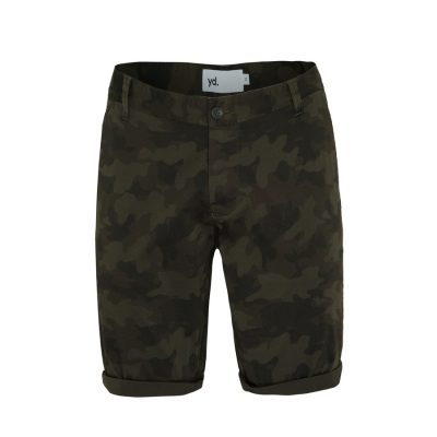 Fashion 4 Men - yd. Branden Short Camo Khaki 28